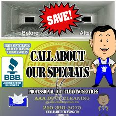 Cleaning Air Vents, Chimney Sweep, Business Professional, Indoor Air Quality, Conditioning, San Antonio, How To Find Out