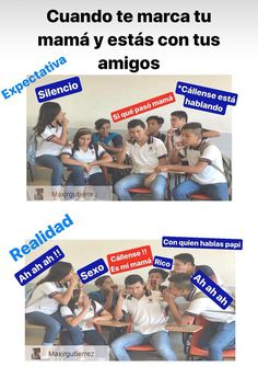 Si no mms :,v Bts Memes, Funny Memes, Spanish Memes, Comedy Central, Yoonmin, Dory, Bff, Children, Anime