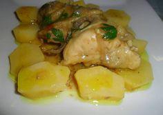 Pollo a la mostaza y miel
