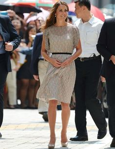 Kate Middleton's Best Dressed Looks | ELLE UK Raoul skirt and top