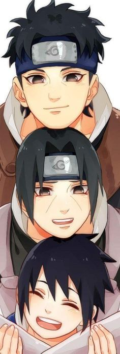 Itachi Sasuske with friend