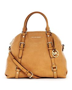 MICHAEL Michael Kors  Extra-Large Bedford Bowling Satchel.  Someone please stop me....