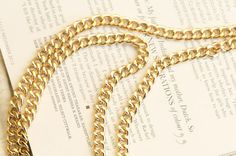 via @Roposo Latest Fashion, Gold Necklace, Chain, Party, Stuff To Buy, Jewelry, Women, Style, Swag