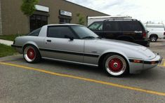 Mazda+FB | BBS RS – Silver Mazda RX7 FB on 16″ Red BBS RS