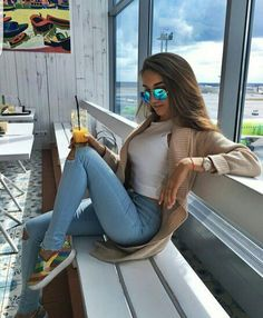 Fall Outfits, Summer Outfits, Casual Outfits, Fashion Outfits, Womens Fashion, Fashion Killa, Fashion Beauty, Style Fashion, Foto Casual