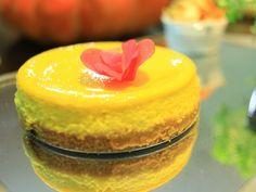 Delicado, saboroso e leve: o Cheese Cake de Abóbora da Chef Luiza Hoffmann é tudo isso e mais um pouco.