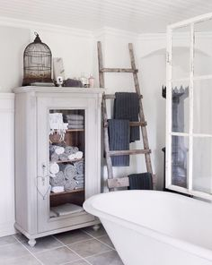 22 badrum i vintagestil – som hämtade ur en saga – Sköna hem
