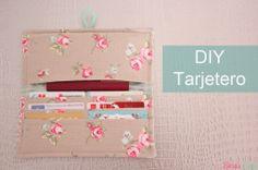 DIY Tarjetero ~ Sara's Code: Blog de Costura + DIY