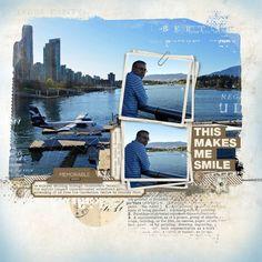 Makes Me Smile Layered Template- Katie Pertiet - PSE/PS Templates- LT755672- DesignerDigitals
