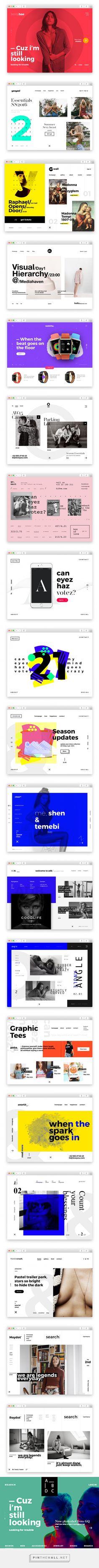 dribbble SS16.WEB/UI on Behance - created via https://pinthemall.net