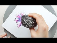 Acrylic Pouring Techniques, Acrylic Pouring Art, Acrylic Art, Watercolor Projects, Acrylic Painting Tutorials, Diy Painting, Easy Flower Painting, Diy Canvas Art, Graffiti
