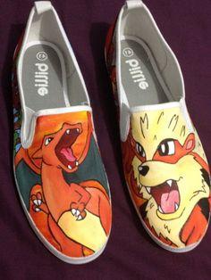 fire pokemon shoes