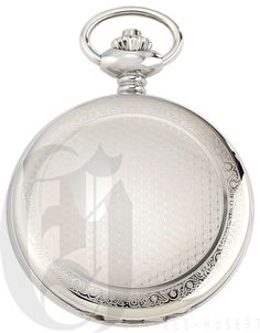 CharleS Hubert pocket watch 3929 Stainless steel hunter case New with tags #CharlesHubert