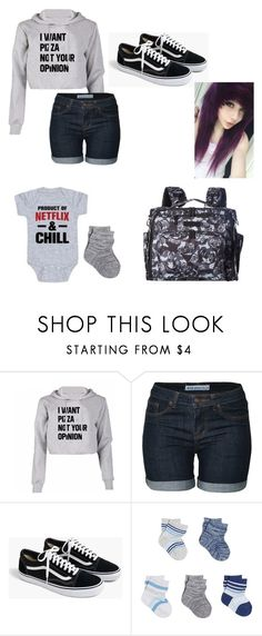 """""""At the park with baby Jaxon"""" by ed-ward-scissorhands ❤ liked on Polyvore featuring J.Crew and Ju Ju Be"""