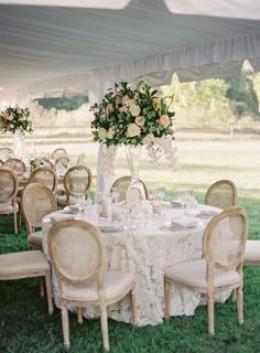 Romantic Flower Filled Outdoor Wedding from Vicki Grafton Photography - MODwedding Romantic Wedding Receptions, Tent Wedding, Mod Wedding, Romantic Weddings, Wedding Ideas, Outdoor Weddings, Winter Weddings, Wedding Goals, Wedding Stuff