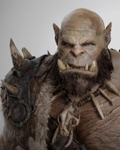 Warcraft Ogrim Photo from World of Warcraft film Warcraft 2016, Warcraft Orc, Zbrush, Character Inspiration, Character Art, Character Design, World Of Warcraft Film, Makeup Fx, Orc Warrior