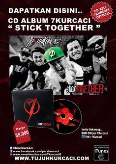 CD Poster 7kurcaci #sticktogether album