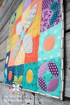 Color Play Holiday Mini Quilt « Moda Bake Shop