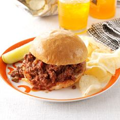 Super Sloppy Joes: I'm not a Sloppy Joes fan, but my husband like them. This recipe definitely looks better than mine!