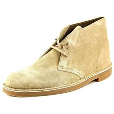 Clarks Clarks Bushacre 2 Round Toe Suede Chukka Boot (406973401) ($68) ❤ liked on Polyvore featuring men's fashion, men's shoes, men's boots, brown, shoes, mens chukka shoes, mens suede shoes, mens suede boots, clarks mens boots and mens brown chukka boots