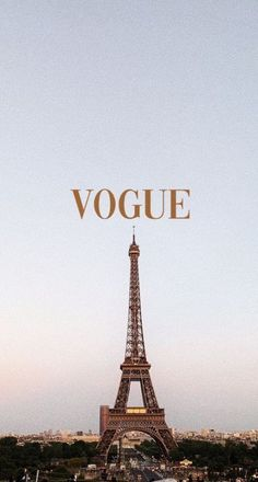 Eiffel Tower x Vogue - Wallpaper, Aesthetic Pastel Wallpaper, Aesthetic Backgrounds, Aesthetic Wallpapers, Vintage Phone Wallpaper, Locked Wallpaper, Paris Wallpaper Iphone, Pink Wallpaper, Lock Screen Wallpaper, Wallpaper Quotes