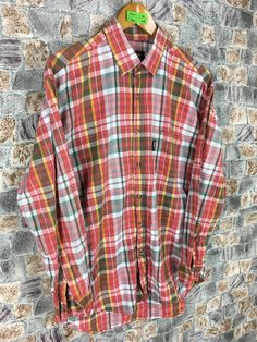 Excited to share this item from my #etsy shop: Vintage Flannel Boho Shirt Medium Benetton Formula 1 Multicolor Checkered Oxfords Flannel 90s Grunge Buttondown Shirt Size M #womenflannelshirt #90shipsterflannel #bohoflannel #benettonflannel #ralphlaurenflannel #flanneloversized #menflannelshirt #checkeredflannel #grungeflannelshirt