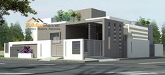 BuildingPlanner is experts in designing home / house plans, we have a group of top architects in Bangalore. Our team of architects handled many residentail projects at affordable price. 3 Storey House Design, Bungalow House Design, House Front Design, Small House Design, Cool House Designs, Door Design, Building Elevation, Elevation Plan, House Elevation