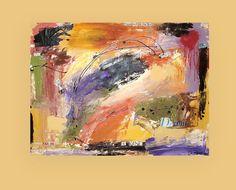 Dies ist ein original Mischtechnik-Gemälde mit mehreren Schichten aus Putz, Gesso und Papier für wunderbare Tiefe und Dimension.  Dies ist eine Abkehr von den meisten meiner Stücke. Ich habe mehrere Schichten von Gips und verwendet reiche erdige Jeweltones Rost, Orange, Rose, Olive, violett-und Kamelhaar mit Noten von roten, schwarzen und metallisches Gold für Schimmer. Es gibt Schichten von Papier in dem Stück, die wenig haben Phrasen inspirierende Sprüche wie Denken außerhalb der Box…