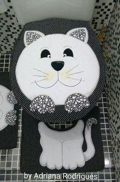 Jogo banheiro gato