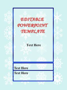 Powerpoint game templates chocolate style commercial use ok editable powerpoint templates christmas winter bulletin board decorationsthe zip file contains editable toneelgroepblik Choice Image
