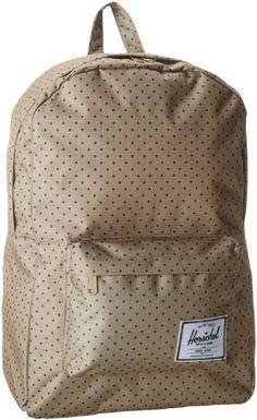 Herschel Supply Co, Polka Dot, Backpacks, Backpack Bags, Dot Patterns,  Backpack, Polka Dots, Backpacking, Backpacker d5438f57cc