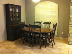 Solid Oak Richardson Brothers Oval Table With 6 Chairs