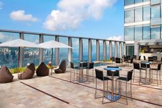 W Hotel pool deck - West Kowloon