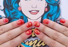 """Please take my hand. I give it to you as a gesture of friendship and love, and of faith freely given. I give you my hand and welcome you into my dream.""—Wonder Woman, #167 Now you and Wonder Woman can join hands in the form of an ultra-snazzy and SUPER manicure. Create your own custom-designed Wonder Woman™ logo vinyl decal, and feel her power at your fingertips. You Will Need: Silhouette CAMEO®    Silhouette Metallic Vinyl – 12-inch Gold Design ID #202721 Design ID #27272 Nail polish…"