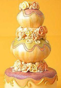 Whimsical Cake  A Russian-inspired whimsical cake.