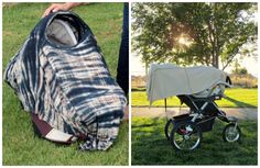 This nursing cover can also be a car seat and stroller cover! DRIA