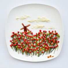 Fun and Creative Food Art by Hong Yi