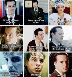 I love Moriarty more than I should.