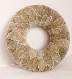 Stachys wreath