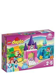 Lego Duplo, Disney Prinsessa -kokoelma. Lumoavasta Prinsessa-kokoelmasta löydät kolme kuninkaallista ystävääsi. Tanssita Tuhkimoa linnan salissa, laske vesiliukumäestä Arielin kanssa ja rakenna viihtyisä mökki Lumikille ja kääpiöille. 2–5-vuotiaille. Tuotenro 1059