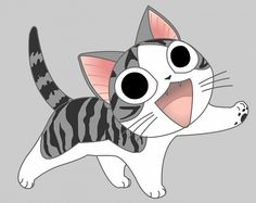 An anime cat symbolic of Gabriel popped somewhere would be cute too. - An anime cat symbolic of Gabriel popped somewhere would be cute too. Or even on the map, you could - Manga Cat, Manga Anime, Gato Anime, Chi Le Chat, Chat D'anime, Chat Kawaii, Kawaii Cat, Gato Grumpy, Chi's Sweet Home