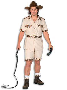 Safari kostuum voor heren. Dit jacht kostuum bestaat uit een blouse, een broek en een riem. Het kostuum is gemaakt van 100% polyester. Carnavalskleding 2015 #carnaval