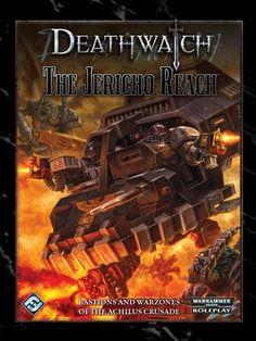 Deathwatch - The Jericho Reach Warhammer Books, Warhammer 40k, Deathwatch, Sci Fi, War Hammer, Artwork, Movie Posters, Random, Gifts