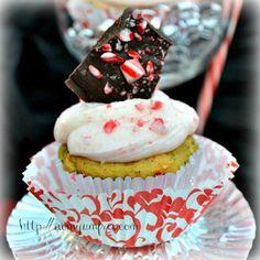 Allergy Friendly Vegan Dairy Free Gluten Free Peppermint Candy Cane Cupcake Cake Pop Buttercream Icing Ganach