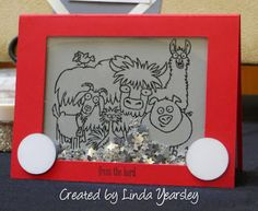 Julie's Stamping Spot -- Stampin' Up! Project Ideas by Julie Davison: Guest Artist: Linda Yearsley + Shaker Cards