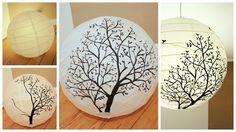 Lise liebt...: DIY - Papierlampe