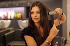How To Flat Iron Your Hair In A Flash