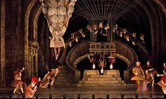 Opera de Paris. Hippolyte et Aricie, by Jean-Phiippe Rameau Le Concert d'Astrée, Emmanuelle Haïm (conductor) Ivan Alexandre (stage director) Antoine Fontaine (sets) Jean-Daniel Vuillermoz (Costumes) Hervé Gary (lighting) 2012