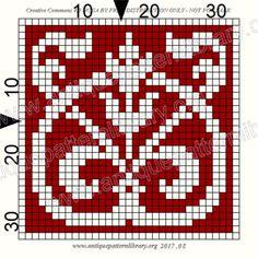 ru / Фото - Le Filet Ancien V - gabbach Small Cross Stitch, Cross Stitch Charts, Cross Stitch Designs, Cross Stitch Patterns, Crochet Diagram, Filet Crochet, Crochet Chart, Crochet Ideas, Cross Stitching