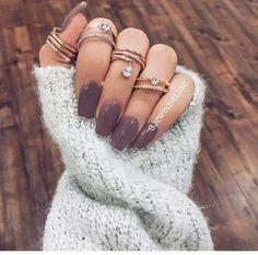 accessoires, bijouterie, vernis à ongles, ongles, agréable, anneaux